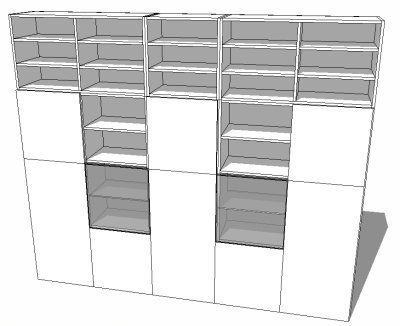 blocks cad symboles mod les sketchup gratuits t l charger biblioth que besta ikea. Black Bedroom Furniture Sets. Home Design Ideas