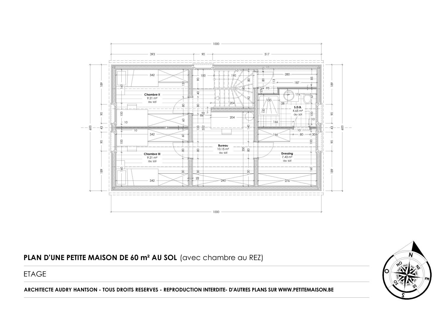 Little house free houses plans to download for Plan de petite maison