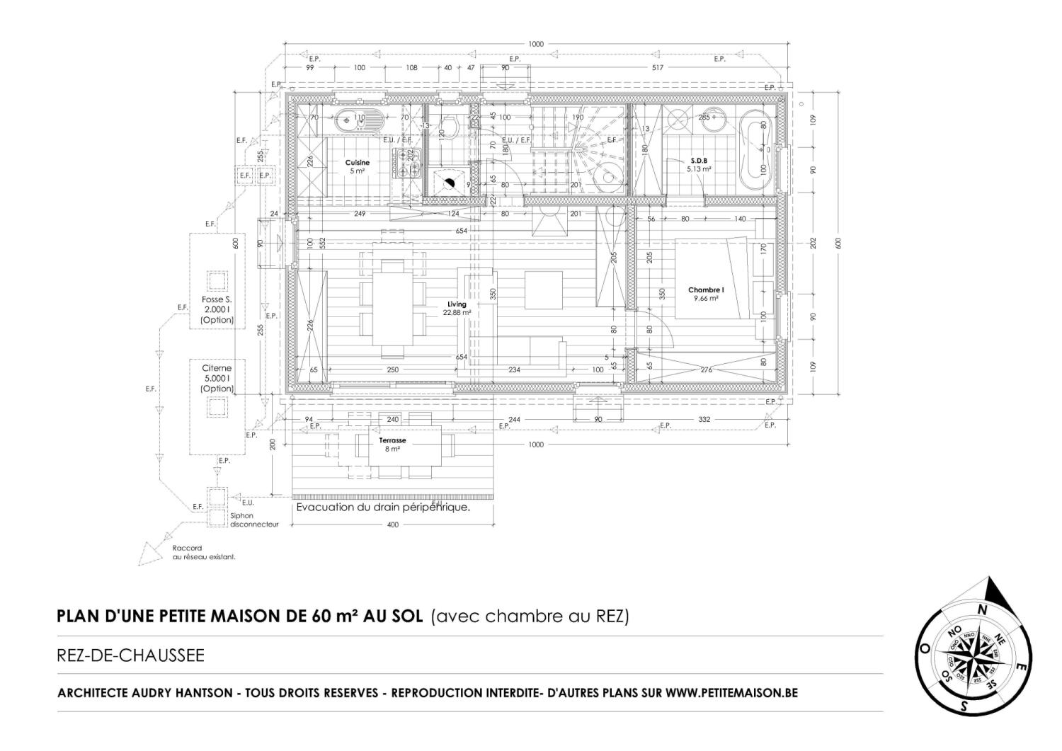 Plan interieur maison gratuit for Plans de projets de maison